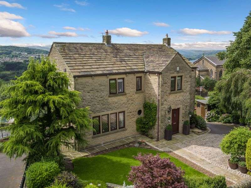 4 Bedrooms Detached House for sale in Stocks Brow, Tintwistle