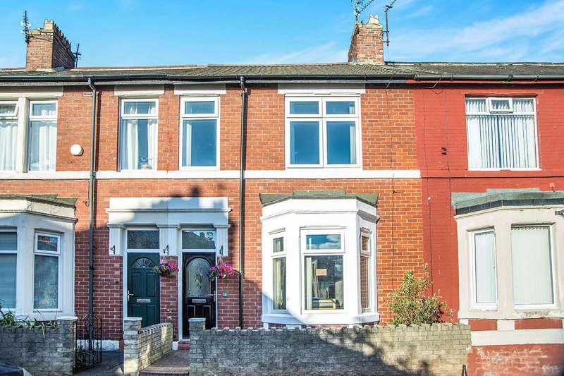 3 Bedrooms Property for sale in Laburnum Avenue, Wallsend, NE28