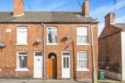 3 Bedrooms End Of Terrace House for sale in Parliament Street, Newhall, Swadlincote, Derbyshire