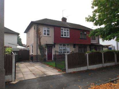 3 Bedrooms Semi Detached House for sale in Hastings Drive, Urmston, Manchester, Greater Manchester