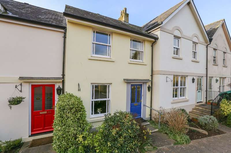 2 Bedrooms Terraced House for sale in 42 New Walk, Totnes