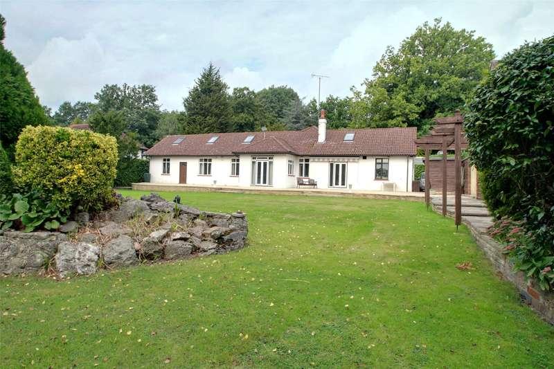 5 Bedrooms Detached Bungalow for sale in Ruxbury Road, Chertsey, Surrey, KT16