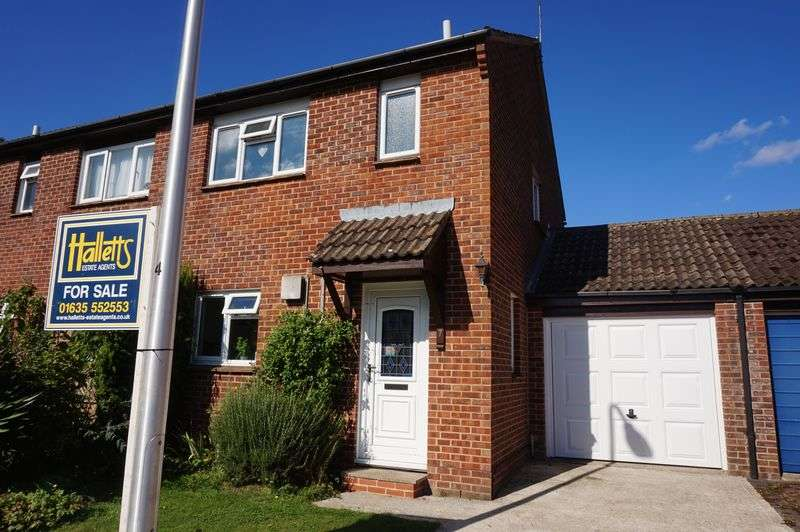 3 Bedrooms Semi Detached House for sale in Wenlock Way, Thatcham