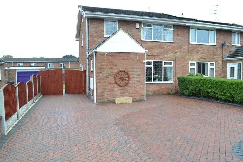 3 Bedrooms Semi Detached House for sale in Charles Lovell Way, Scunthorpe