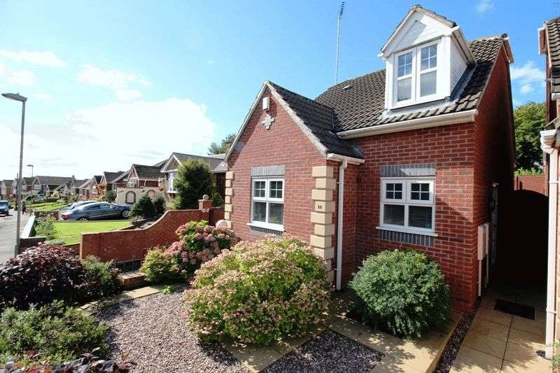 3 Bedrooms Detached Bungalow for sale in Cotwall End Road, The Straits, Sedgley