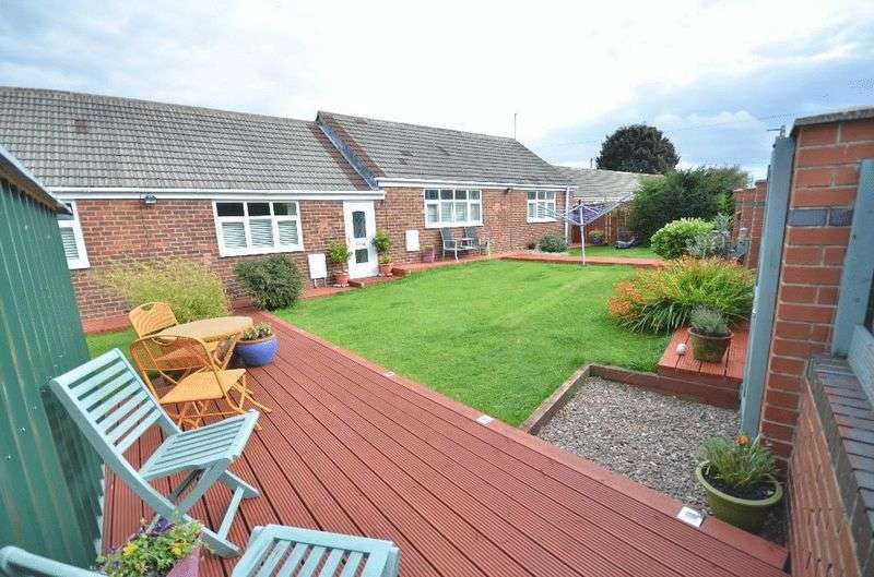 3 Bedrooms Detached Bungalow for sale in Penzance Court, Murton, Seaham
