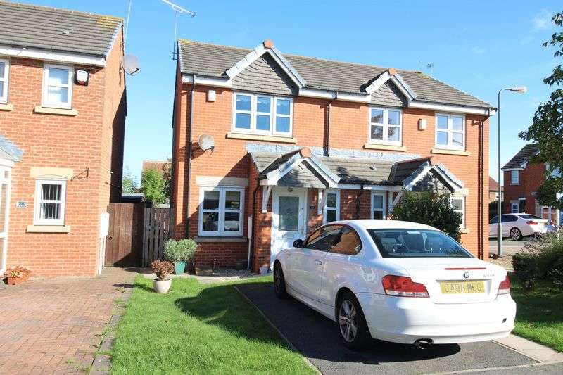 2 Bedrooms Semi Detached House for sale in Cedar Drive, Jarrow