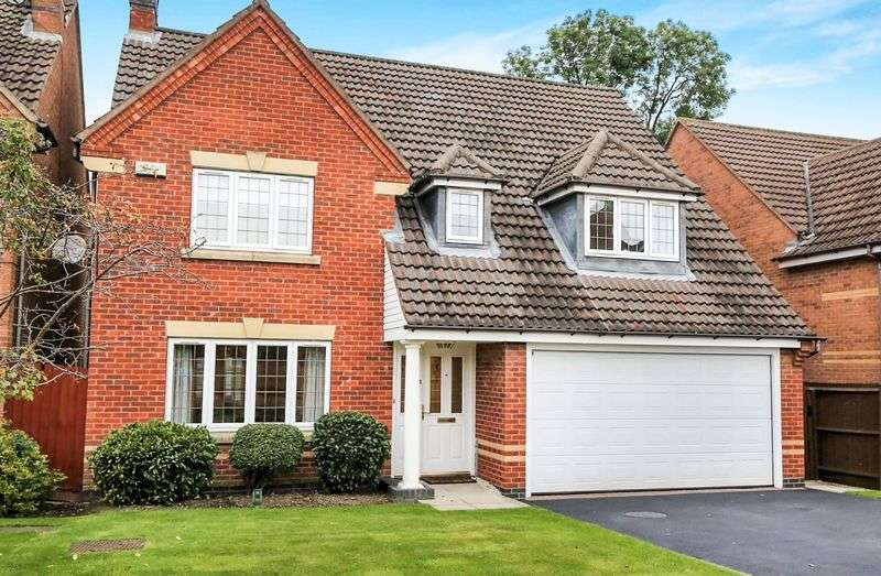 4 Bedrooms Detached House for sale in Bosworth Close, Ashby-De-La-Zouch, Leics LE65 1LB