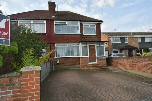 3 Bedrooms Semi Detached House for sale in Stirling Way, Ramsgate, Kent