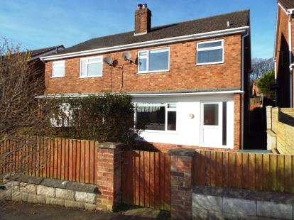 3 Bedrooms Semi Detached House for sale in The Rock, Helsby, Frodsham, Cheshire, WA6
