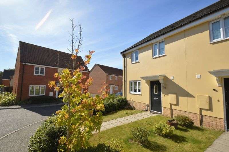 3 Bedrooms Terraced House for sale in Foxhouse Road, Costessey