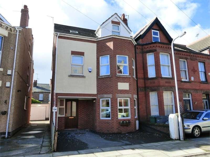 5 Bedrooms Semi Detached House for sale in Eaton Road, West Kirby