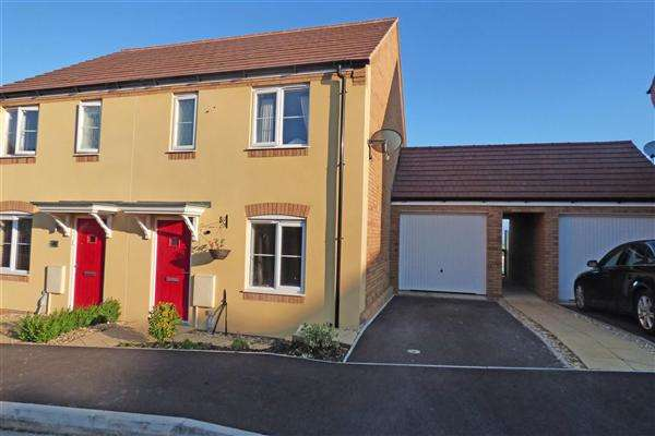 3 Bedrooms Semi Detached House for sale in Atkins Hill, Wincanton