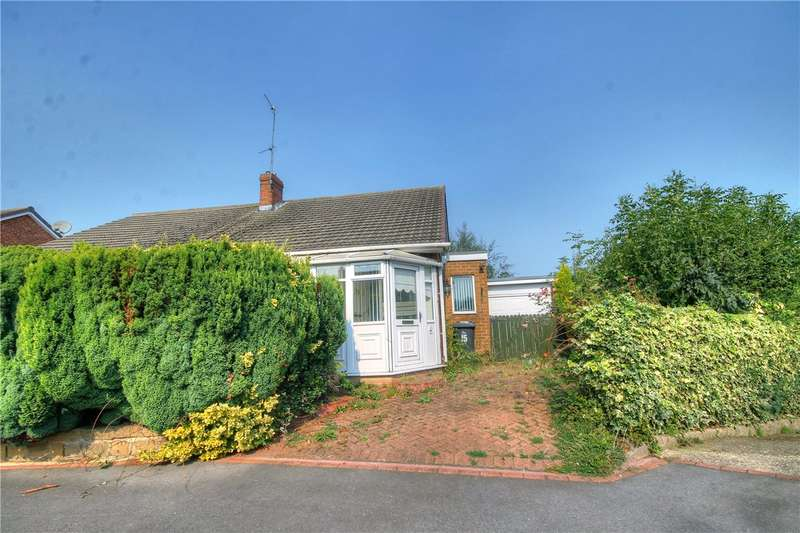 2 Bedrooms Semi Detached Bungalow for sale in Coniston Close, Garden Farm Estate, Chester le Street, DH2