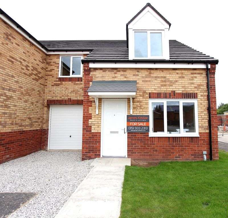 3 Bedrooms Semi Detached House for sale in Fergus, Peel Court, Bootle