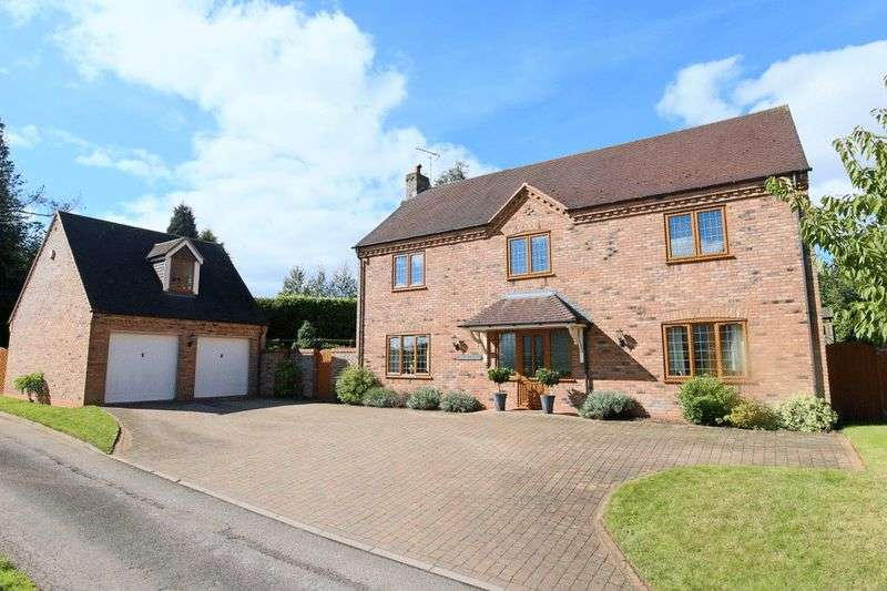5 Bedrooms Detached House for sale in Ginger Lane, Croxton, Stafford