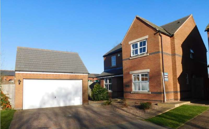 4 Bedrooms Detached House for sale in Old Station Yard, Edwinstowe