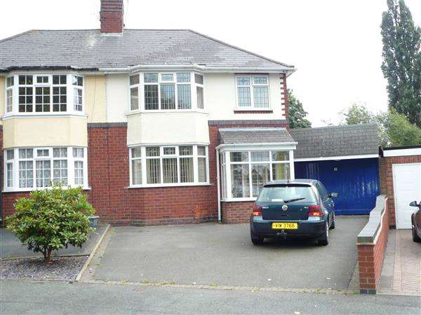 3 Bedrooms Semi Detached House for sale in Copes Crescent,Fallings Park, Wolverhampton