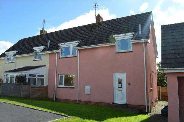 3 Bedrooms Semi Detached House for sale in Highfield, Lapford, Crediton, Devon