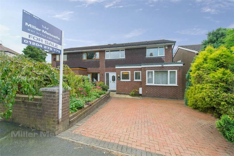 4 Bedrooms Semi Detached House for sale in Brownlow Road, Horwich, Bolton, Lancashire