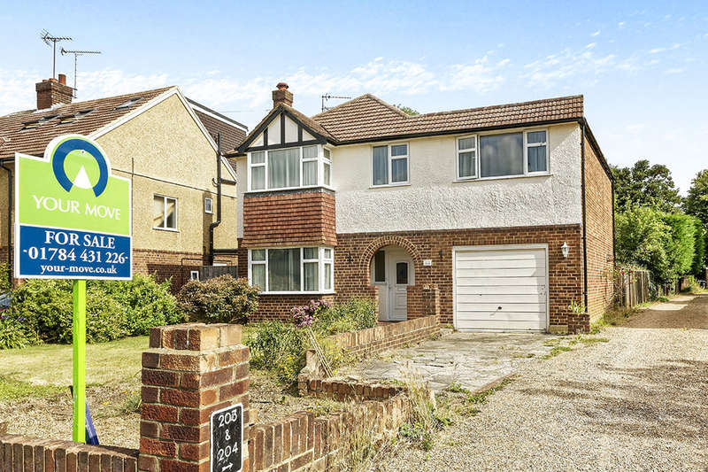 5 Bedrooms Detached House for sale in Wendover Road, Staines-Upon-Thames, TW18