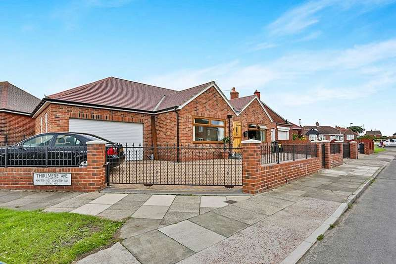 2 Bedrooms Detached Bungalow for sale in Thirlmere Avenue, North Shields, NE30