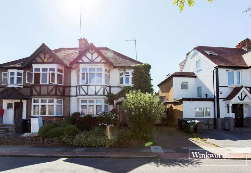 3 Bedrooms Semi Detached House for sale in Claremont Park, Finchley, London, N3