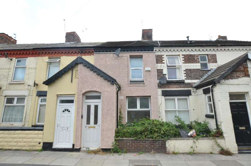 2 Bedrooms Terraced House for sale in Gray Street, Bootle, Merseyside, L20