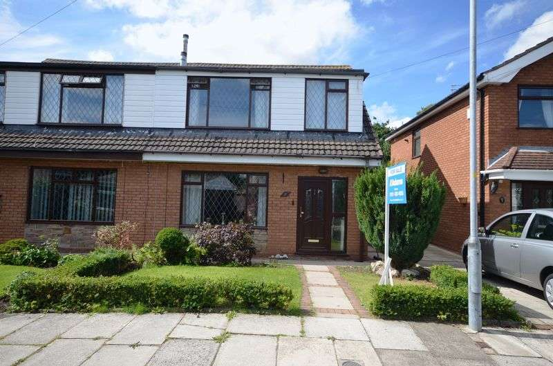 3 Bedrooms Semi Detached House for sale in Romney Close, Widnes