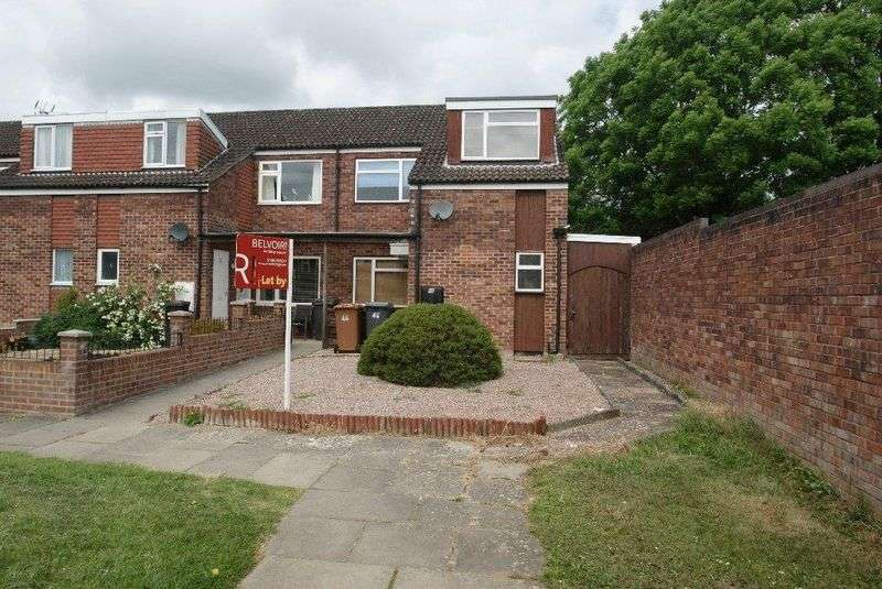 3 Bedrooms Terraced House for sale in Caesar Close, Andover