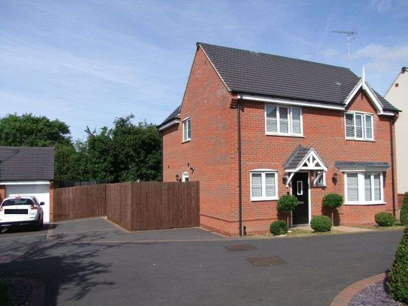 4 Bedrooms Detached House for sale in Ridge End Drive, Burton