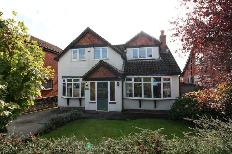 3 Bedrooms Detached House for sale in Hilton Lane, Worsley Manchester