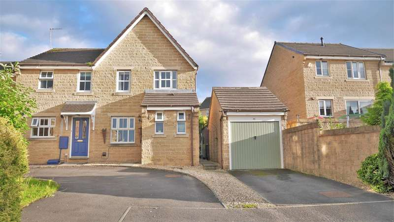 3 Bedrooms Semi Detached House for sale in Grindlestone Hirst, Colne