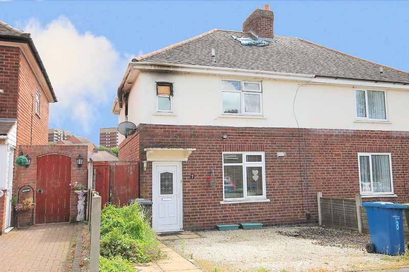 3 Bedrooms Semi Detached House for sale in Nevill Street, The Leys, Tamworth, B79 7RP