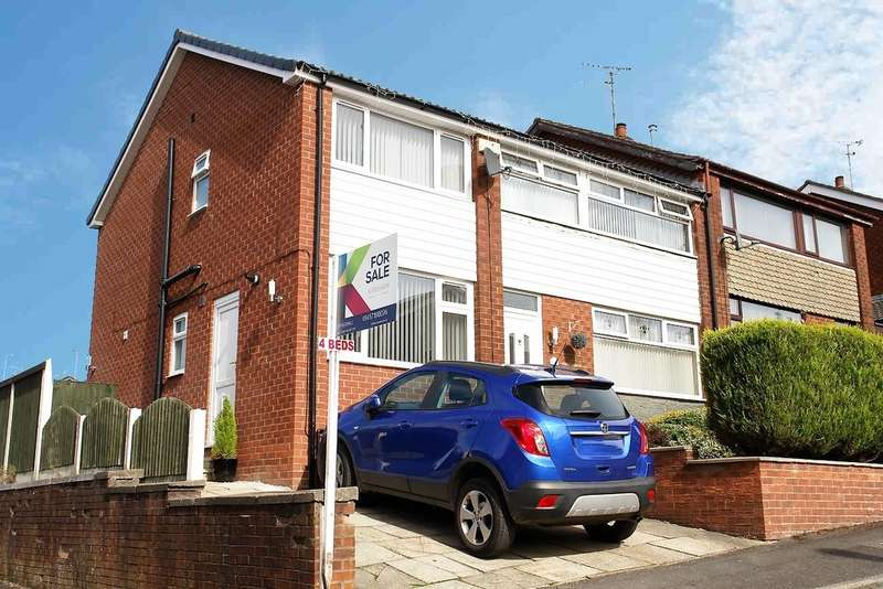 4 Bedrooms Semi Detached House for sale in Redwood Lane, Lees