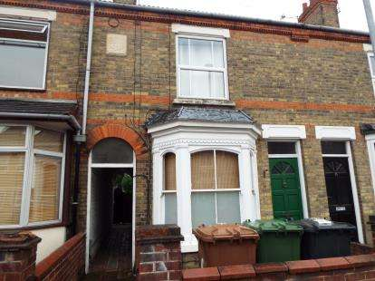 2 Bedrooms Terraced House for sale in Princes Road, Peterborough, Cambridgeshire