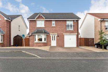 4 Bedrooms Detached House for sale in Shankly Drive, Morningside, Wishaw, North Lanarkshire