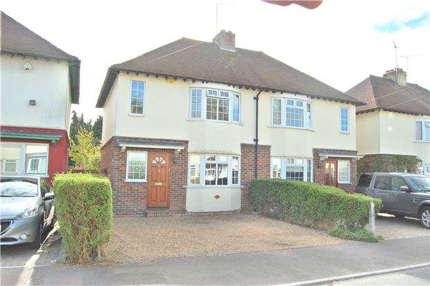 3 Bedrooms Semi Detached House for sale in Wickenden Road, SEVENOAKS, Kent, TN13 3PW
