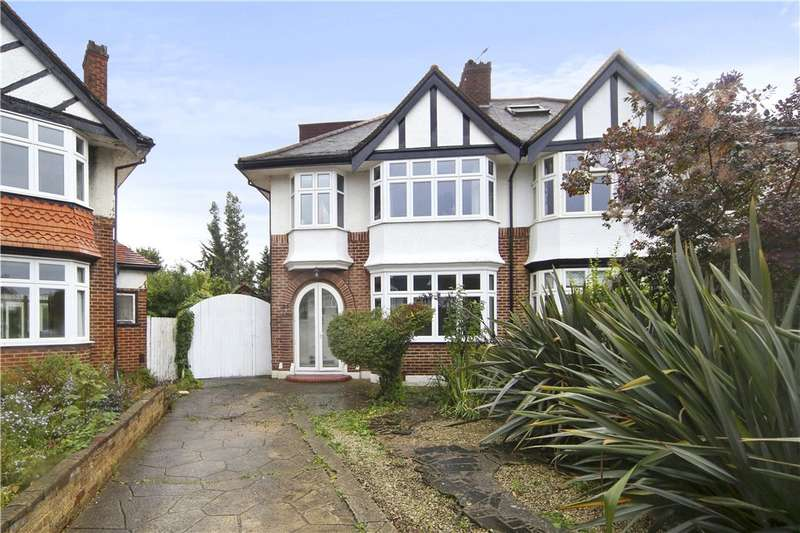 4 Bedrooms Semi Detached House for sale in Delamere Road, London, W5