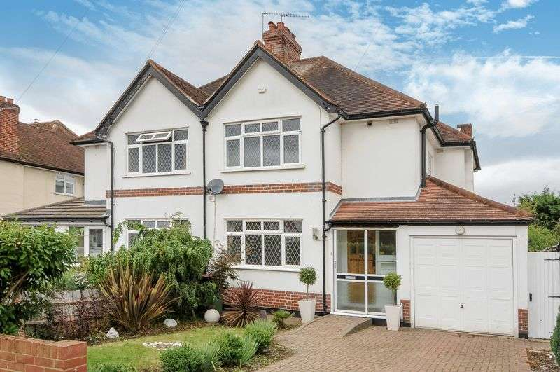 3 Bedrooms Semi Detached House for sale in Craddocks Avenue, Ashtead