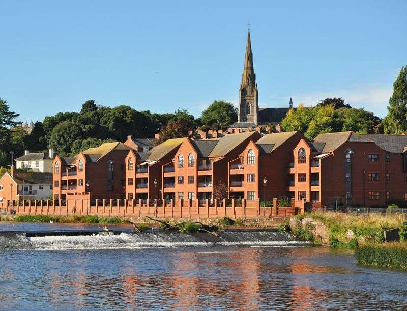 3 Bedrooms Flat for sale in St Leonards, Exeter