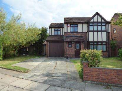 4 Bedrooms Detached House for sale in Lydiate Park, Thornton, Liverpool, Merseyside, L23