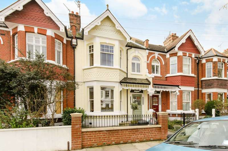 5 Bedrooms Terraced House for sale in Elsenham Street, Southfields, SW18
