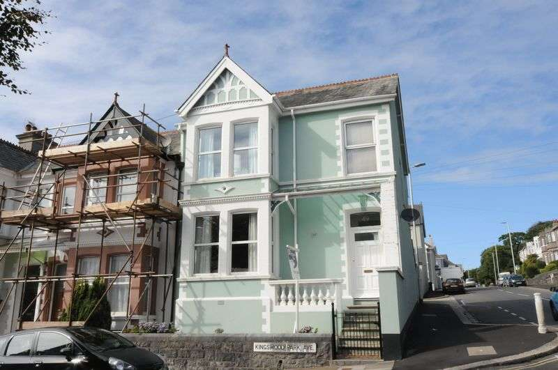 4 Bedrooms House for sale in Kingswood Park Avenue, Peverell, Plymouth. A beautiful and highly individual 4 bed end terraced home. Garage.