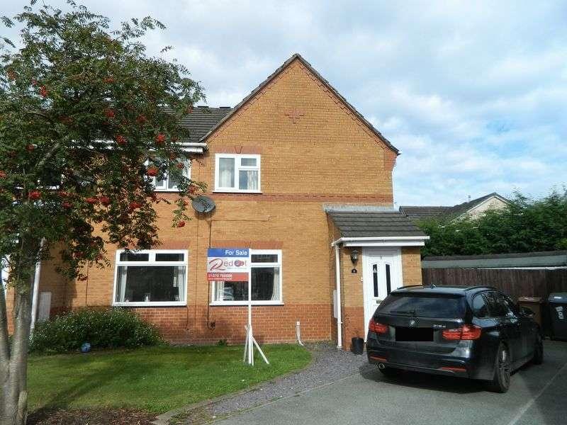 3 Bedrooms Semi Detached House for sale in Rutland Close, Sandbach
