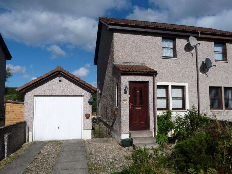 2 Bedrooms Semi Detached House for sale in New Flockhouse, Lochore