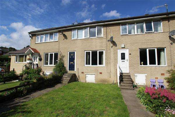 3 Bedrooms Town House for sale in Kebroyd Avenue, Kebroyd, Sowerby Bridge
