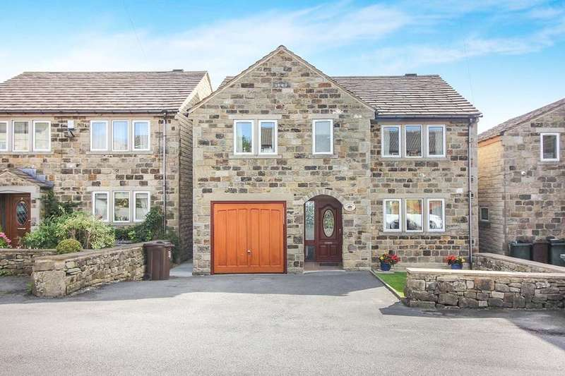 5 Bedrooms Detached House for sale in High Shann Farm Broadlands, Keighley, BD20