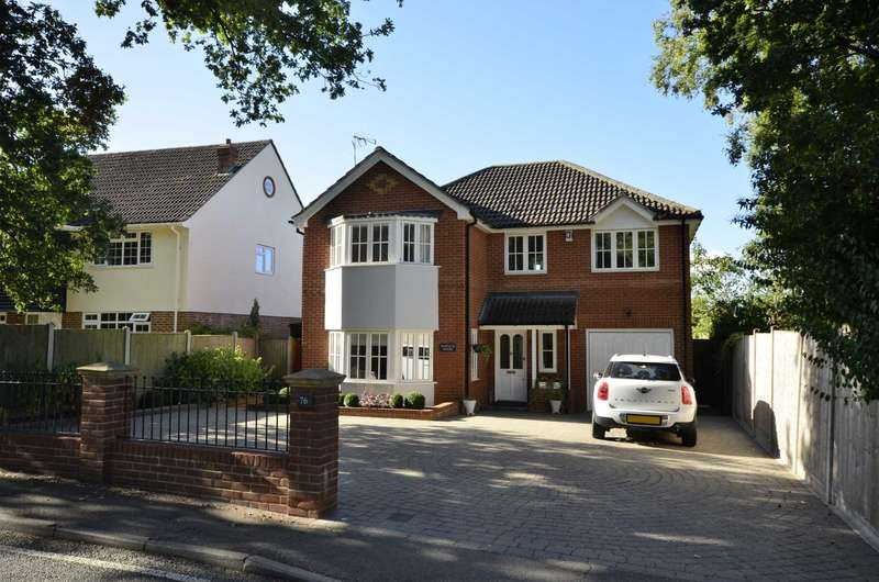 4 Bedrooms Detached House for sale in Potash Road, Billericay