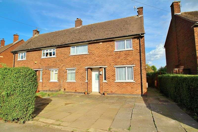 3 Bedrooms Semi Detached House for sale in Boundary Road, Mountsorrel, Leicestershire